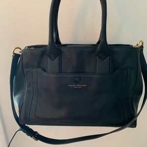 Marc Jacobs Purse - Pebbled Leather Briefcase Tote